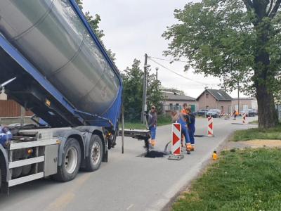 distributor asfaltu sprider