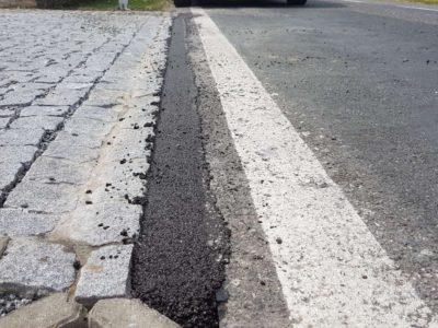 studená asfaltová směs se dodává v pytlích