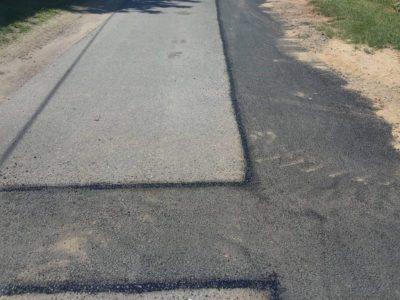 asfaltová zálivka