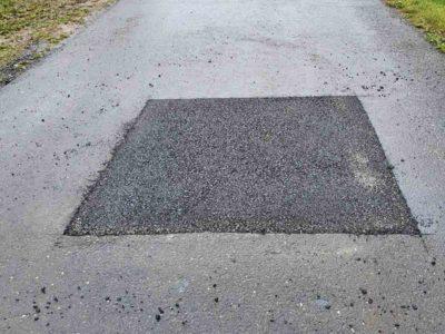 asfaltování, opravy výtluků
